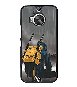 Fighter 2D Hard Polycarbonate Designer Back Case Cover for HTC One M9 Plus :: HTC One M9+ :: HTC One M9+ Supreme Camera