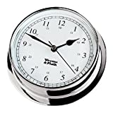 Weems & Plath Endurance Collection 125 Quartz Clock (Chrome)