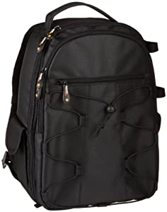 AmazonBasics Backpack for SLR Cameras and Accessories-Black by AmazonBasics