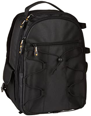 AmazonBasics Backpack for SLR Cameras and Accessories Black from AmazonBasics