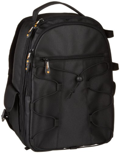 AmazonBasics Backpack for SLR Cameras and Accessories Black