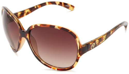 Electric Visual Women'S Rockabye Oversized Sunglasses,Tortoise Shell Frame/Brown Gradient Lens,One Size