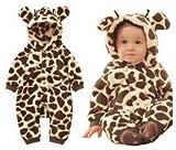 (アニヴェール) Anniverl 子供用着ぐるみ 全2種類3サイズ 柔らかもこもこ素材 キリン 【Anniverlオリジナルセット】