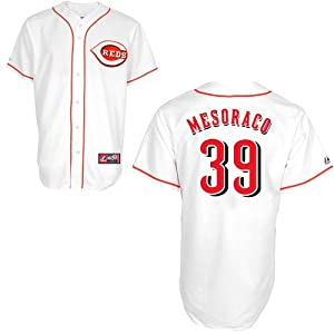 Majestic Athletic Cincinnati Reds Devin Mesoraco Replica Home Jersey by Majestic Athletic