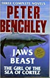 Peter Benchley: Three Complete Novels (0517100215) by Benchley, Peter