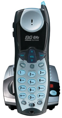 Ge 27990Ge3 2.4 Ghz Analog Cordless Phone With Digital Messaging System front-98687