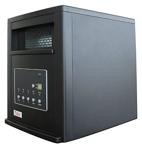 American Comfort ACW0063 Black 1500-watt Portable Infrared Heater