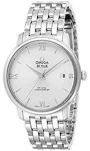 [オメガ]OMEGA 腕時計 デ・ビル シルバー文字盤 コーアクシャル自動巻 デイト 424.10.37.20.02.001 メンズ 【並行輸入品】
