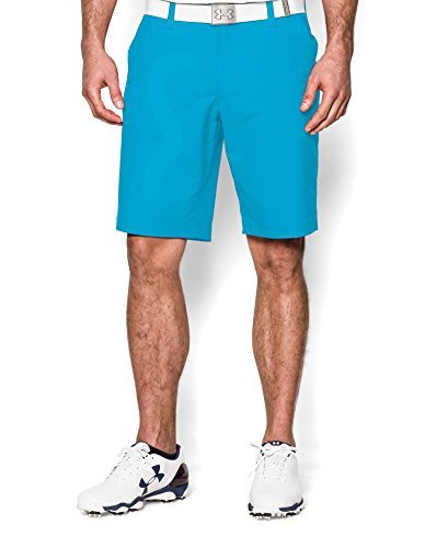Under Armour Mens UA Match Play Shorts 34 X 11 ISLAND BLUES