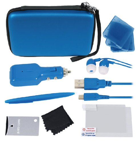 Crown 12-in-1 Deluxe Accessory Kit - Blue ( Nintendo