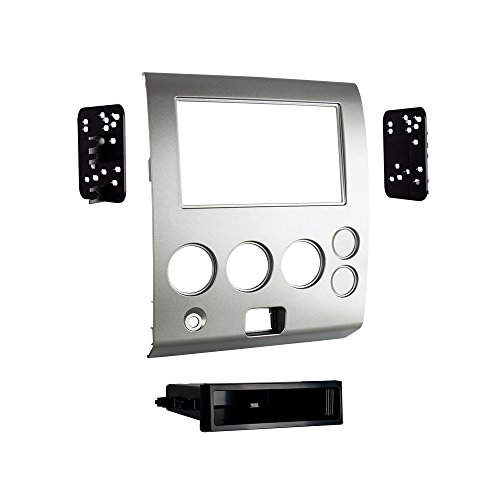 Metra 99-7629S 2004-07 Nissan Models with Navigation Single/Double-DIN Radios (Silver) (07 Nissan Titan Accessories compare prices)