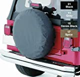 Rampage R773217 30-32 Inch Spare Tire Cover SPICE DENIM