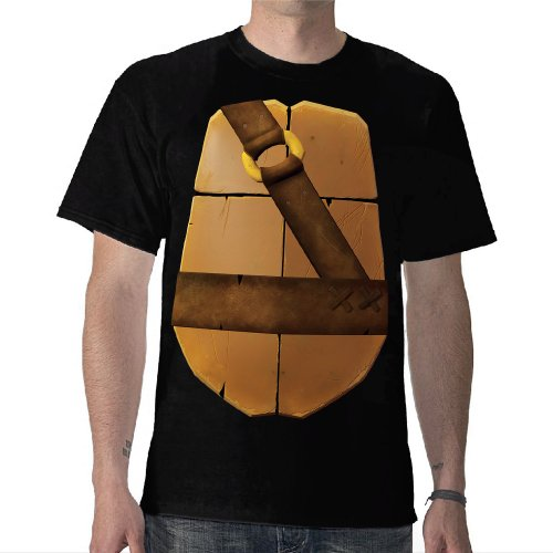 TMNT: Donatello Shell Costume Tee - Adult