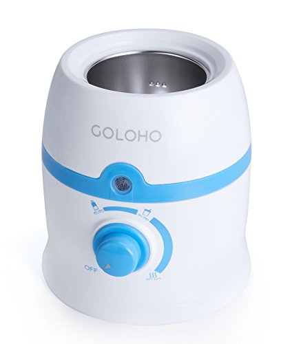 Baby Bottle Warmer with Stainless Steel Warming Chamber and Bonus Gifts, Portable Set, Handy Temperature Control, Easy to Clean (Baby Bottle Heater compare prices)