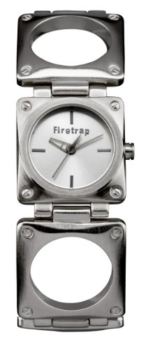 Firetrap FT1049S Shrapnel Ladies Silver Bracelet Watch