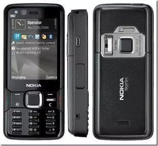Unlocked Nokia N82 Bar Smart Mobile Phone 5 Million Pixel Fashion Student Mobile Phone (black)