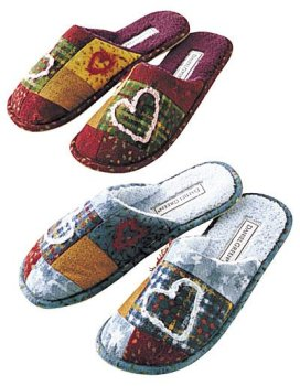Cheap Daniel Green Patchwork Slides (B0006N560A)
