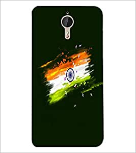 PrintDhaba Indian Flag D-4697 Back Case Cover for LETV (LE ECO) LE 1 PRO (Multi-Coloured)