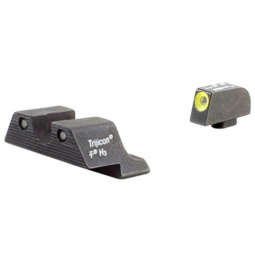 Trijicon Glock 21 Hd Night Sight Set - Yellow Front Outline