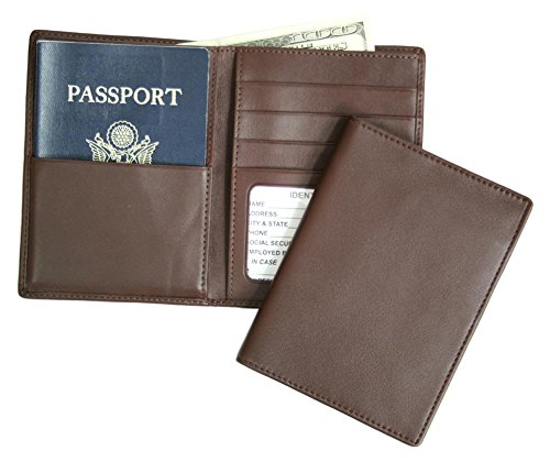 Leather Travel Wallet For Men Mens Travel Wallets Around