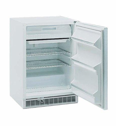 General Purpose Undercounter Refrigerator/Freezer with Glass Door, 6 cu ft