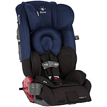 Diono Radian RXT Convertible Car Seat, Black Cobalt