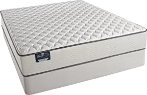 Simmons BeautySleep Schofield Firm Mattress Set, Twin XL