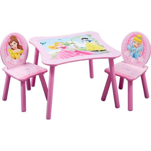 Disney Princess Square Table And Chair Set