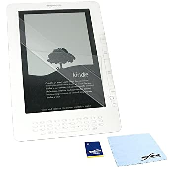 BoxWave Kindle DX ClearTouch Anti-Glare Screen Protector - Premium Quality Anti-Glare, Anti-Fingerprint Matte Film Skin to Shield Against Scratches (Includes Lint Free Cleaning Cloth and Applicator Card) - Kindle DX Screen Guards