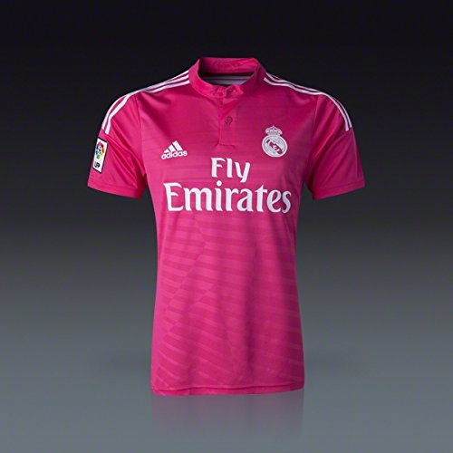finest selection 8f6bf 60990 NEW 2015 Pink Real Madrid Adidas Away Soccer Jersey (Small ...