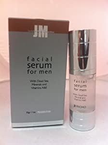 Jericho Men Facial Serum 0.1 Fl Oz