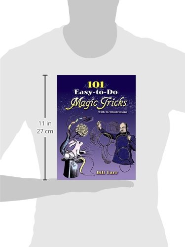 101 Easy-to-Do Magic Tricks (Dover Magic Books) alluminum alloy magic folding table bronze color magic tricks illusions stage mentalism necessity for magician accessories