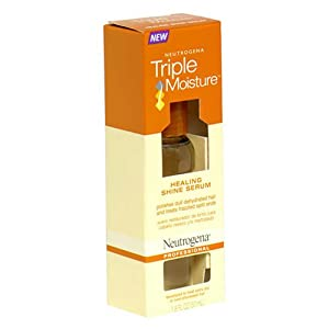 Neutrogena Triple Moisture Healing Shine Serum, 1.8 Ounce (Pack of 3)