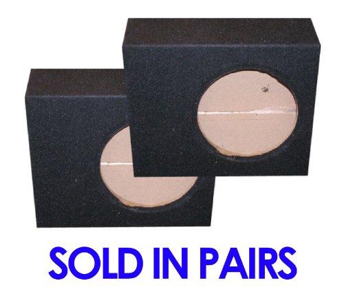 "Audiotek Angle Sealed 12"" Paired Speaker Boxes Cvr, Cvt, Comp 12, P3, P2, P1, R1, R2, Mtx, Infiniti, Sony, Jl, Jbl, Alpine, Pioneer, Kenwood, Kicker Subwoofers!"
