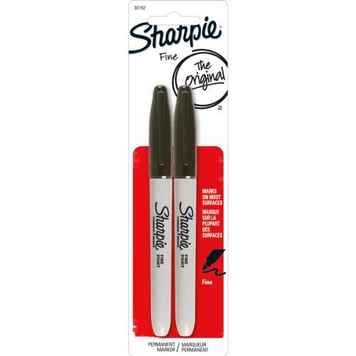 sharpie-fine-point-marqueur-permanent-cardee-2-pkg-noir