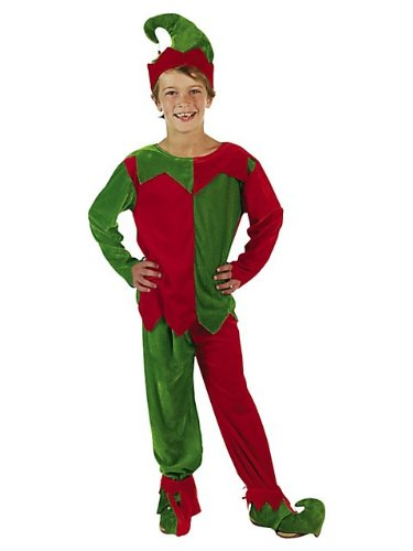 Velour Elf Child's Costume Set by Fun Express