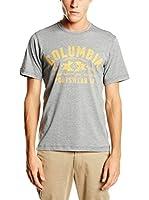 Columbia Camiseta Manga Corta Csc Eu Round Bend (Gris)