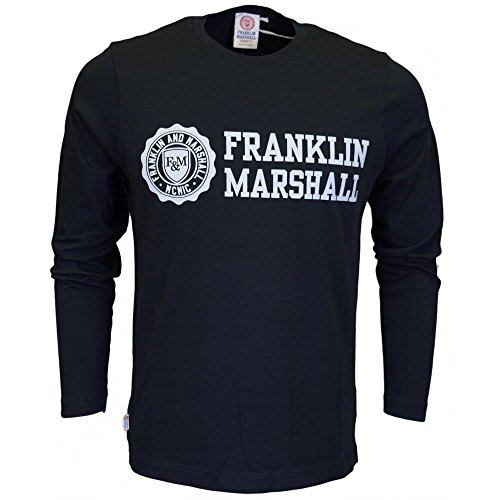Franklin & Marshall -  T-shirt - Uomo Black Large