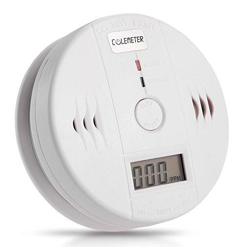 Lgking supply - Detector digital de monóxido de carbono con alarma
