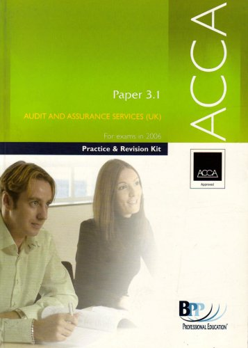 ACCA Paper 3.1 Audit and Assurance Services (Acca Revision Kit)