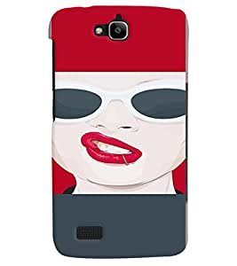 PRINTVISA Beautiful Girl Case Cover for Huawei Honor Holly
