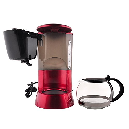 4 Cup Coffee Maker Glass Carafe : PHY 4-cup/0.6l Switch Espresso Coffee Maker / Coffeemaker with Glass Carafe & Permanent Filter ...