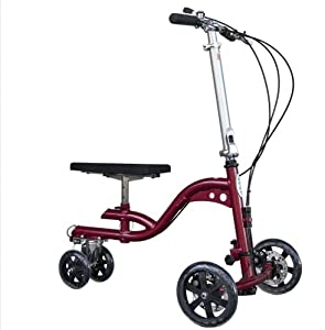 Knee Walker SPRY Knee Cruzer Elite Red