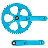 Retrospec Bicycles Fixed-Gear Crank Single-Speed Road Bicycle Crankset