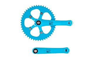 Retrospec Bicycles Fixed-Gear Crank Single-Speed Road Bicycle Crankset by Retrospec Bicycles