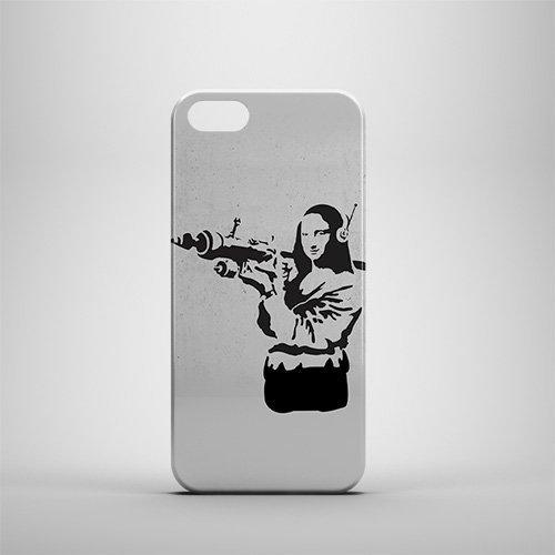 banksy-mona-lisa-bazooka-iphone-5-5s-caso