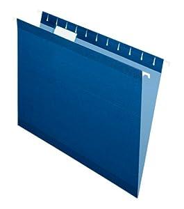 Pendaflex  Hanging Folder,1/5 Tab, Letter, 25 Box, 4152 1/5 NAV