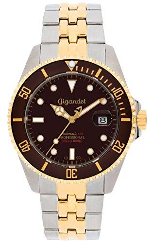 Gigandet G2-017 - Reloj para hombres, correa de acero inoxidable