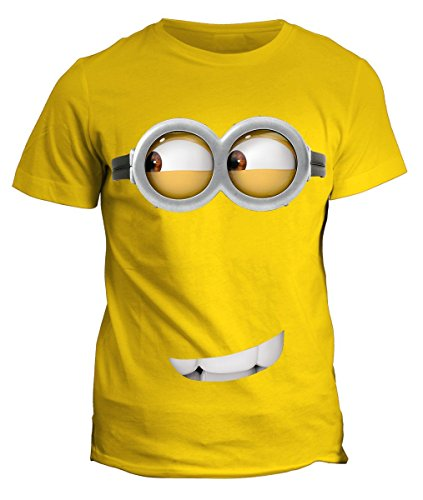 Tshirt minion occhioni simpatici - cartoon cartoni- in cotone by Fashwork