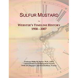 Sulfur Mustard History | RM.